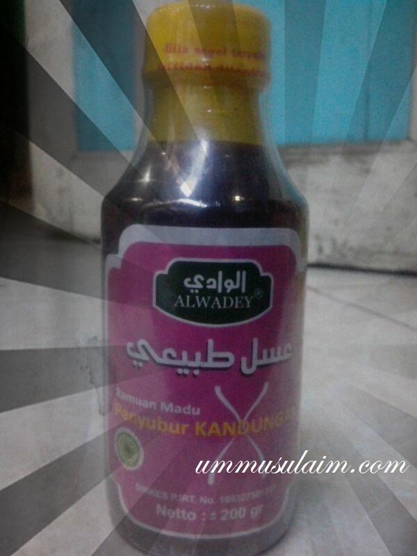 madu penyubur kandungan obat herbal islami