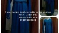 Bismillah, Produk Ummusulaim.com terbaruGamis wolpeach Syar'i Kombinasi Batik Paket Kerudung Cadar.Gamis cantik dan syar'i kombinasi batik yang anda bisa beli secara online dengan paket kerudung dan cadar atau hanya gamis […]