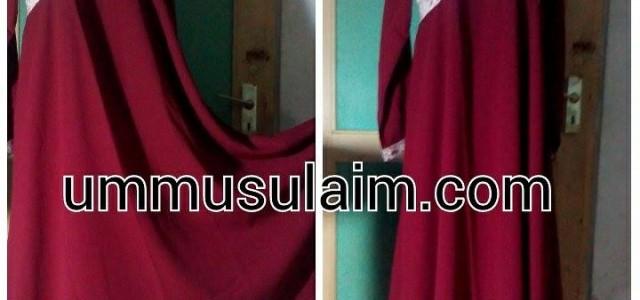 Produk ummusulaim.com gamis syar'i cantik, Gamis Umbrella hanbook. Produk ini adalah produk dari griya muslim online ummusulaim.com yang cukup banyak diminati. Gamis Umbrella hanbook cantik ini tersedia dalam dua warnaGamis […]